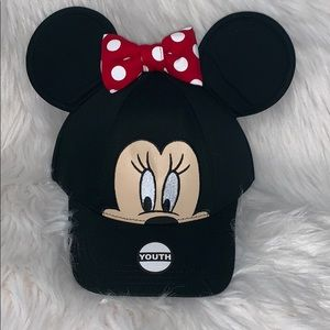 Youth Disney Minnie Mouse hat